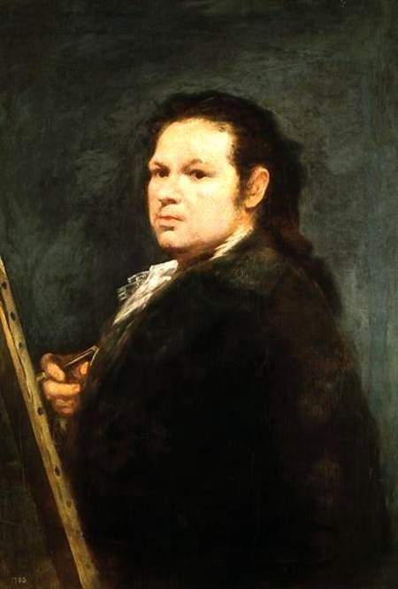 Франсиско Гойя. Автопортрет