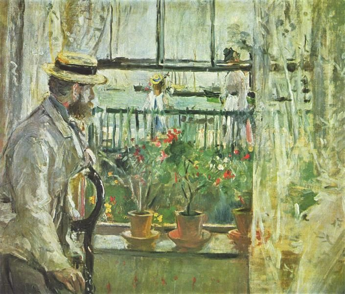 In England (eugène Manet on the Isle of Wight)