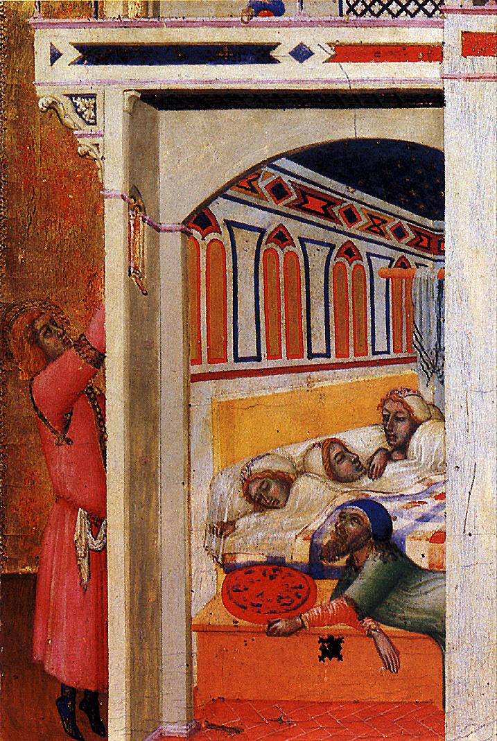 Ambrogio Lorenzetti. The Charity Of St. Nicholas Of Myra