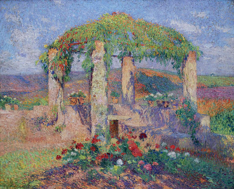 Henri Martin. The beginning of autumn