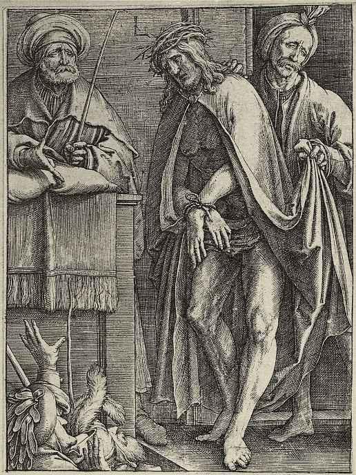 Лукас ван Лейден (Лука Лейденский). Бог