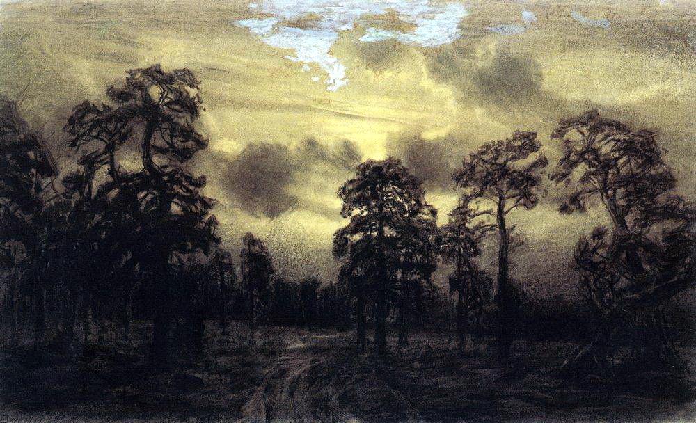 Аполлинарий Михайлович Васнецов. Ночь