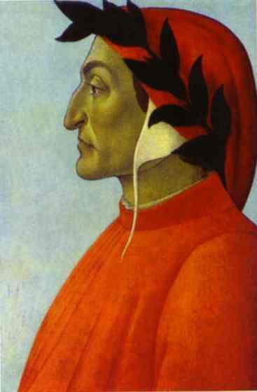 Сандро Боттичелли. Данте Алигьери