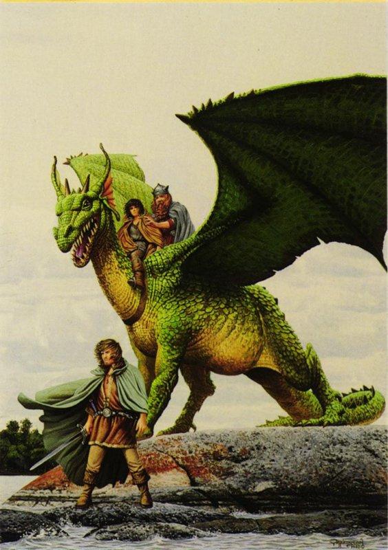 Кит Паркинсон. Большой зеленый дракон