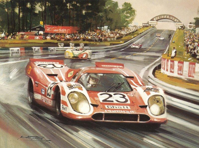 Roy Rob. Porsche winner