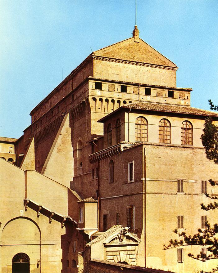 Микеланджело Буонарроти. Сикстинская капелла. Фото.