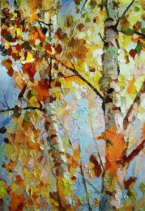 Michael Mine. Birch trees