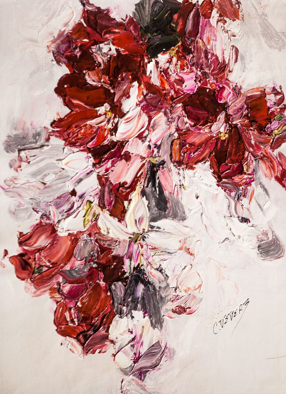 (no name). Red and white symphony