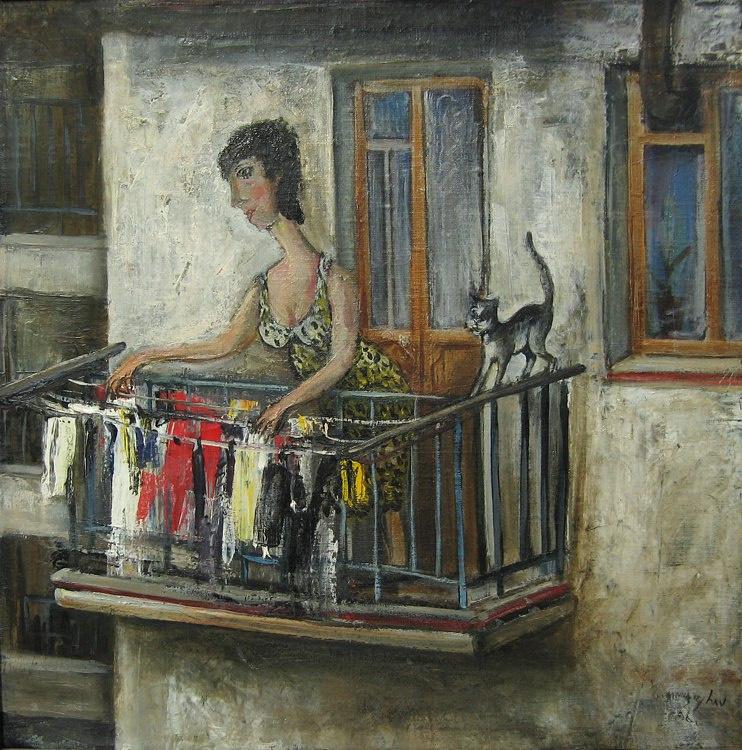 Badri Otarovich Topuria. Neighbor