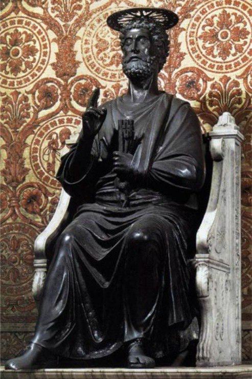 Arnolfo di Cambio. St. Peter