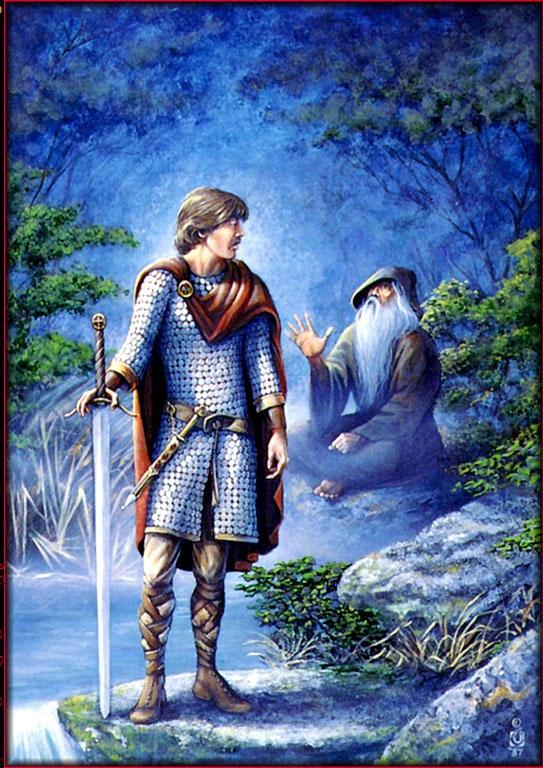 Давид Черри. Последний истинный рыцарь