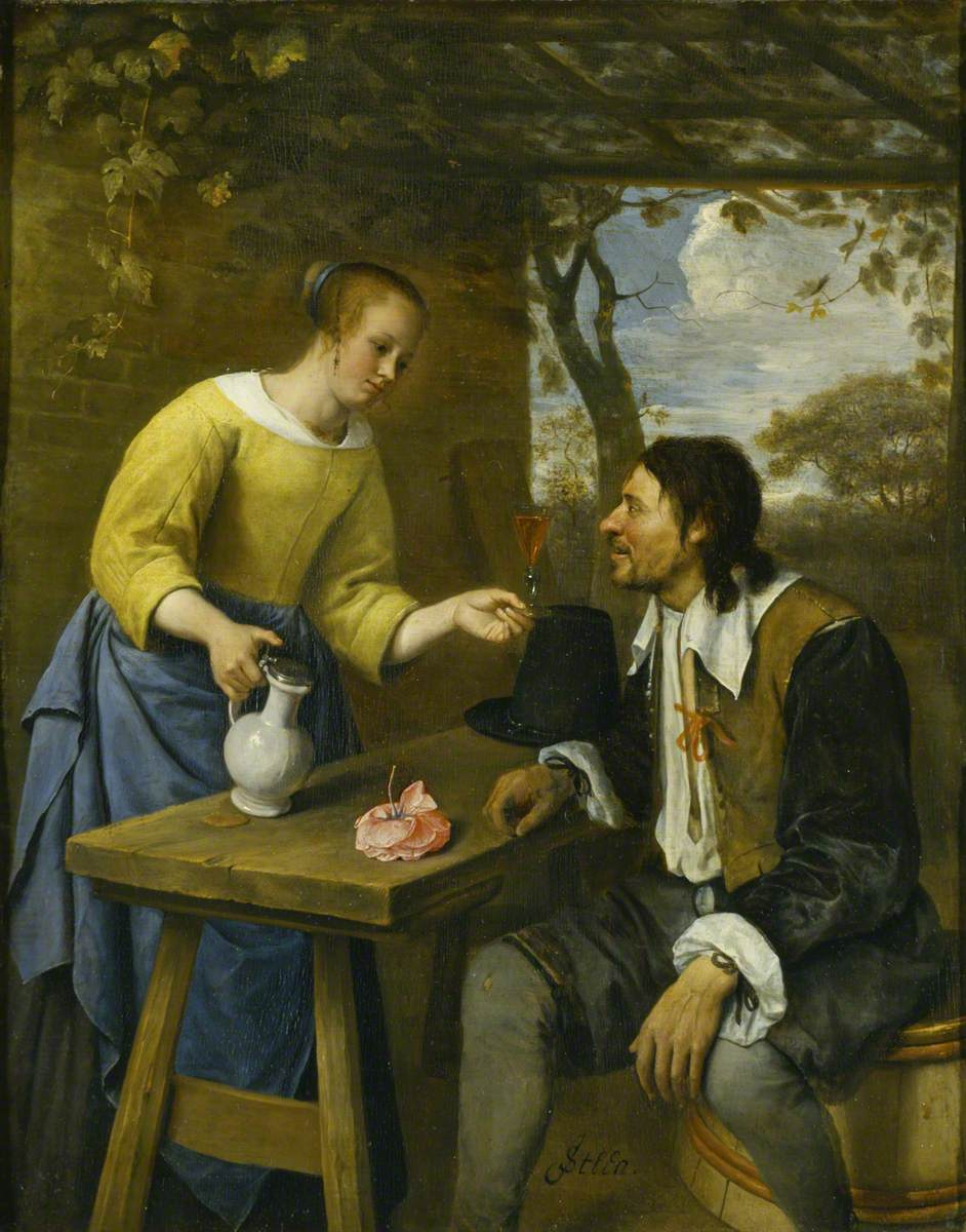 Jan Steen. A weary traveler