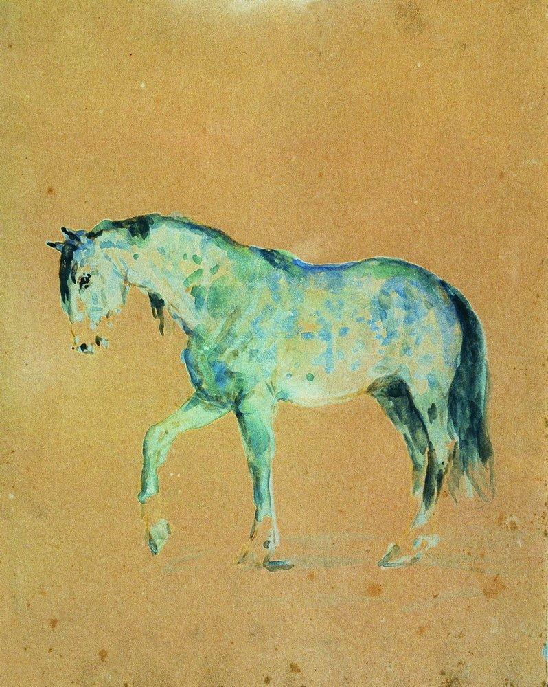 Илья Ефимович Репин. Лошадь