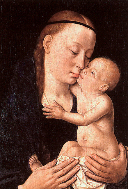 Dirk Bouts. The virgin and child