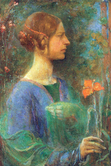 Клара Уивер Пэрриш. Дама с цветком