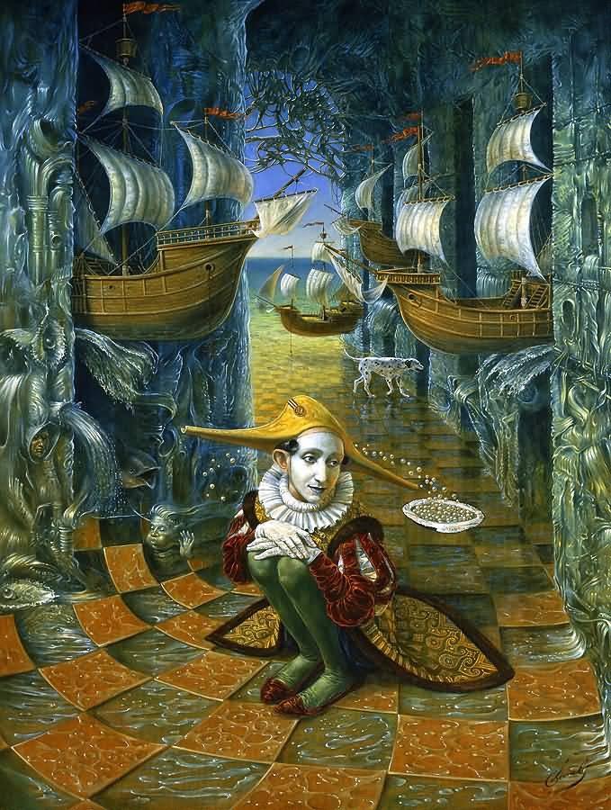 Mikhail Khokhlachov. Pearl Rhapsody