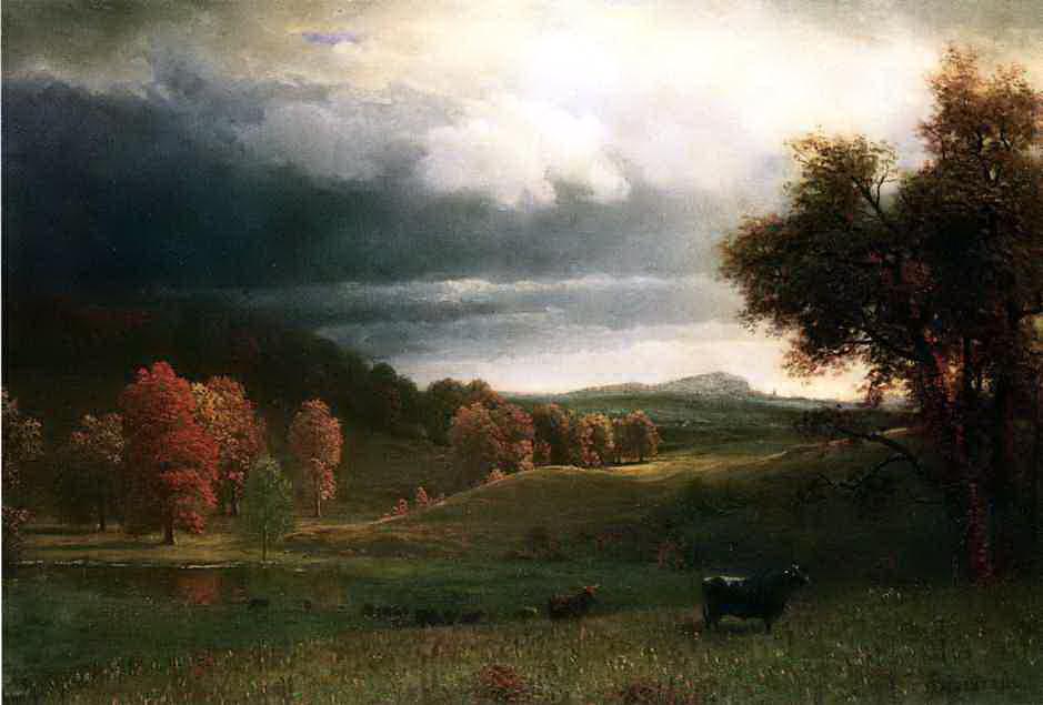 Альберт Бирштадт. Осенний пейзаж