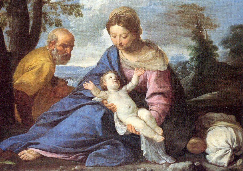 Йл Песапес. Дева с младенцем