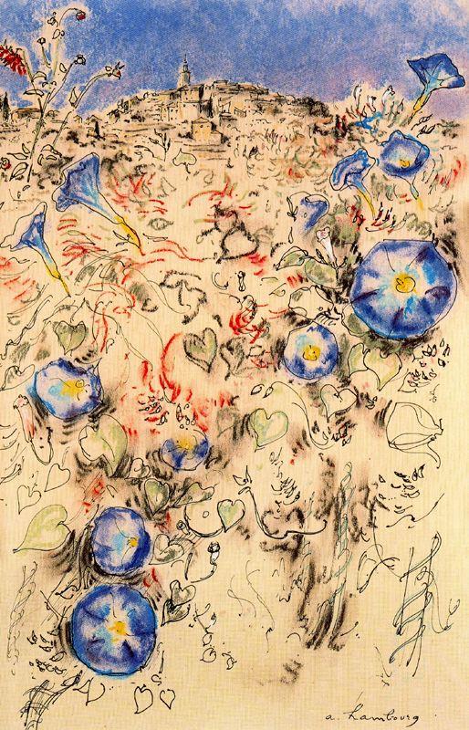 Андре Хамбоург. Голубые цветы