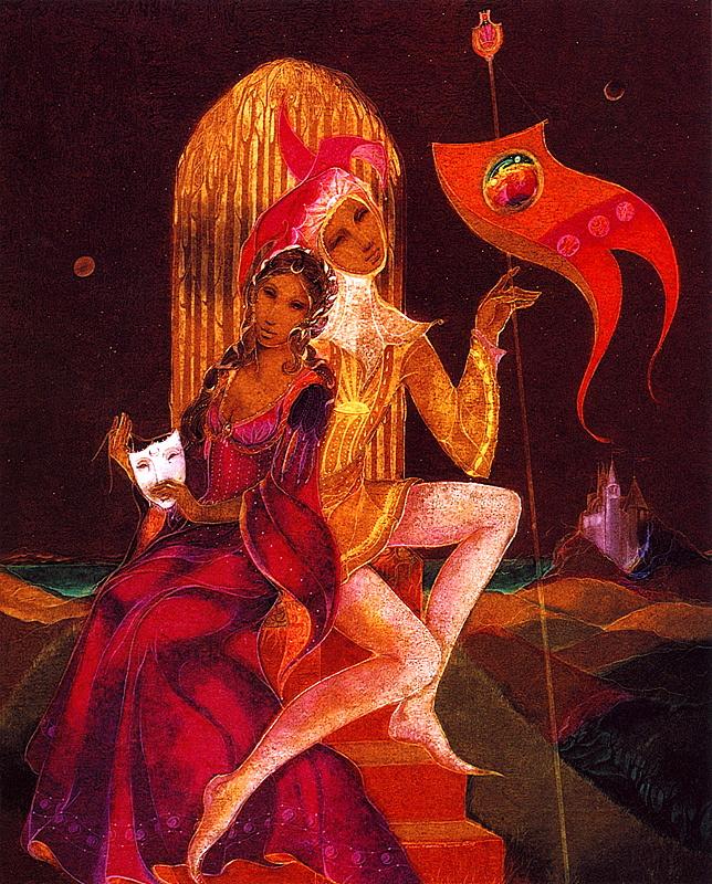 Susan Seddon Boulet. Mask and banner