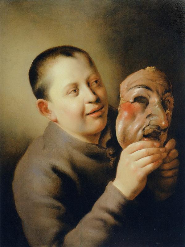 Ян Ливенс. Мальчик с маской