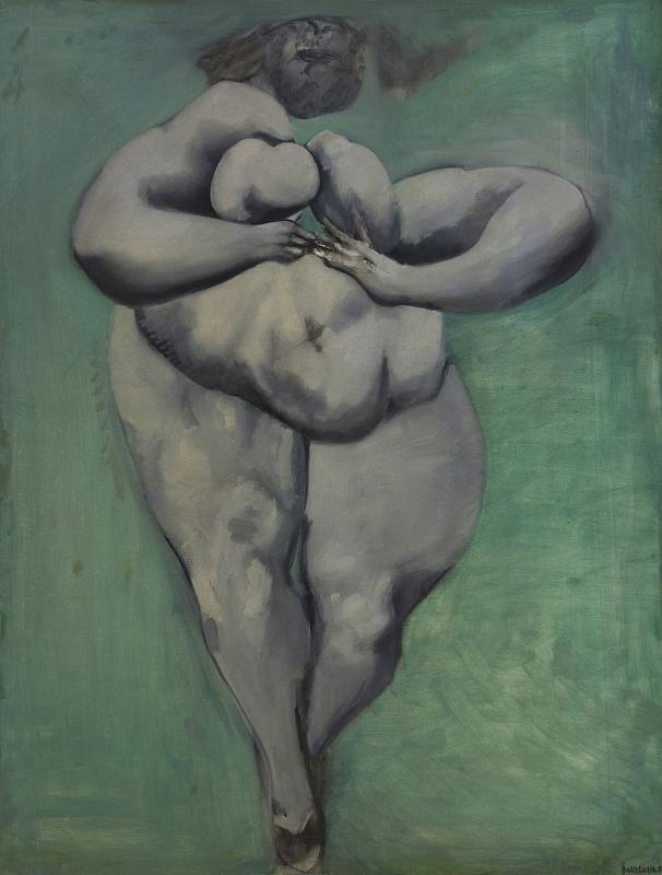 Boris Alevich Lurie. Dismembered, nude, walking