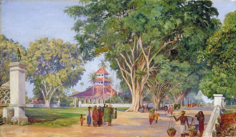 Marianna North. Bandong Mosque, Java