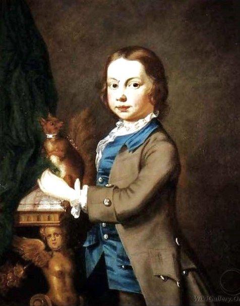 Джозеф Хаймор. Мальчик с домашней белкой