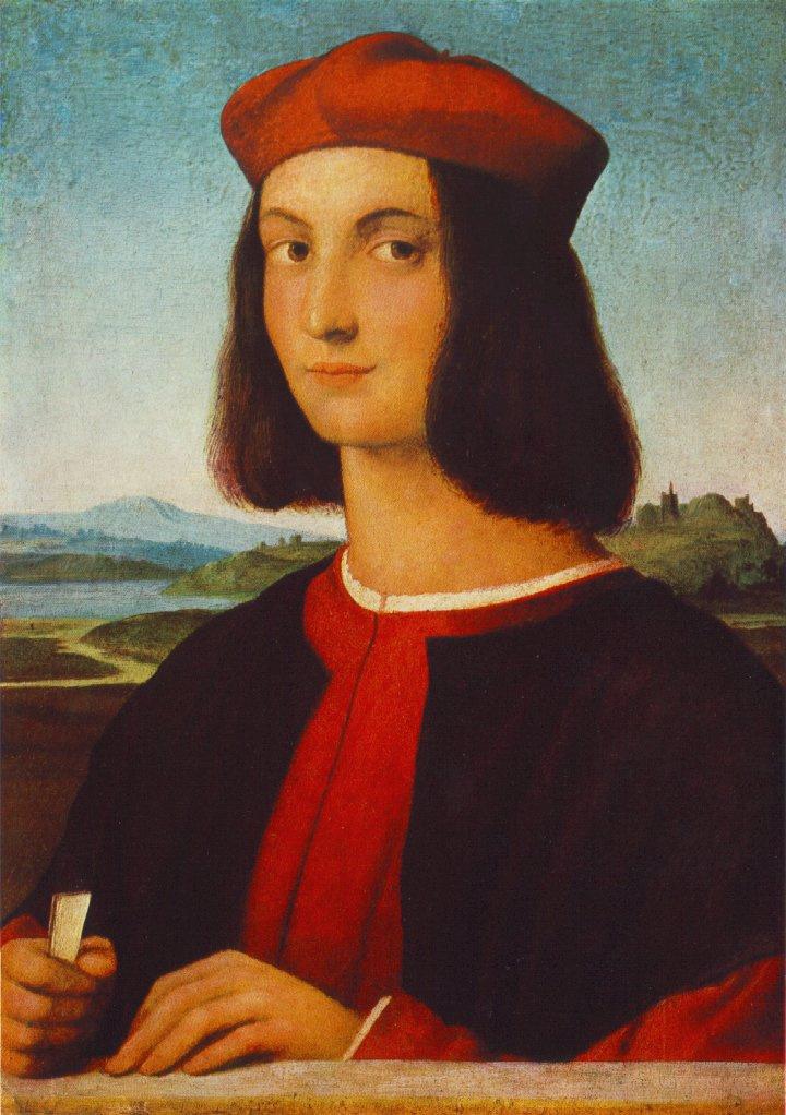 Raphael Santi. Portrait of Pietro Bembo
