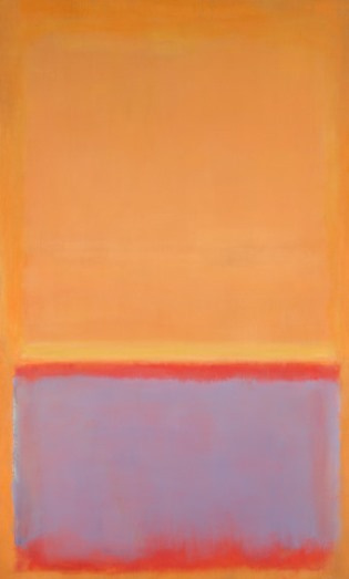 Rothko Mark. Untitled (Orange, blue red)