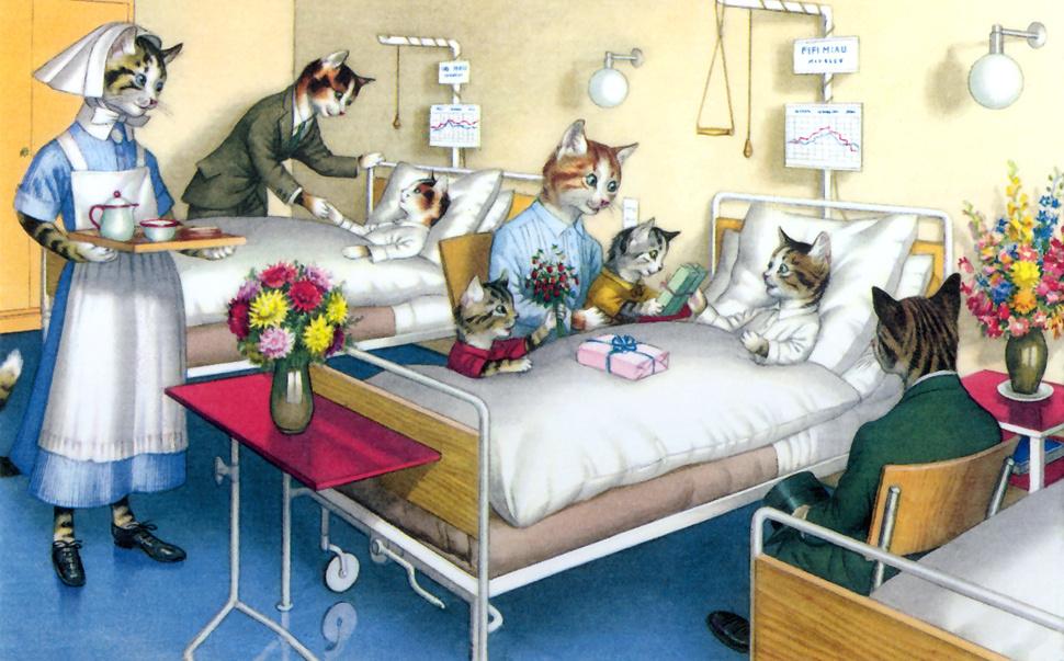 Про снайперов, открытка для человека лежащего в больнице
