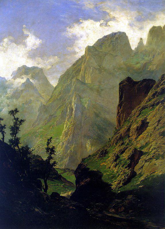 Карлос де Хас. Горы