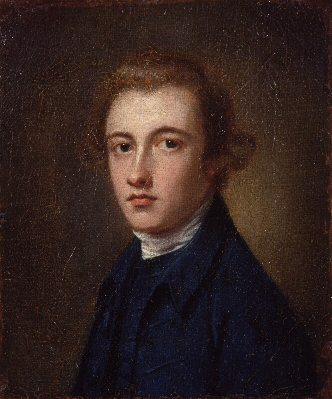 George Romney. Portrait of a young man (Peter Romney)