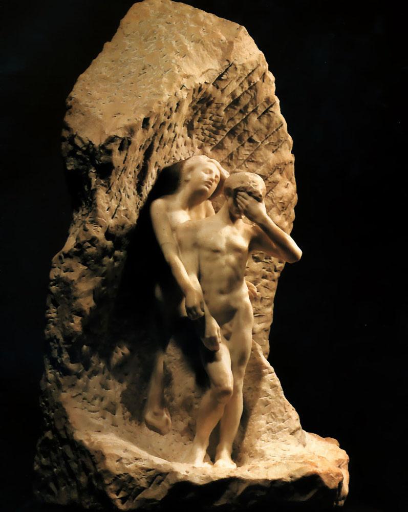 Auguste Rodin. Orpheus and Eurydice
