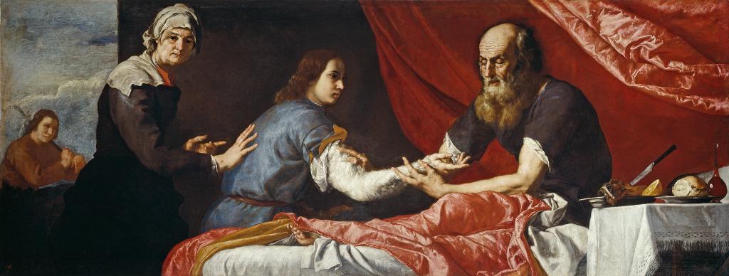 Хосе де Рибера. Слепой Исаак благославляет Иакова