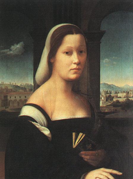 Джулиано Бугиапдини. Портрет женщины