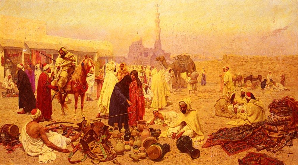 Джулио Розати. Джулио на арабском рынке