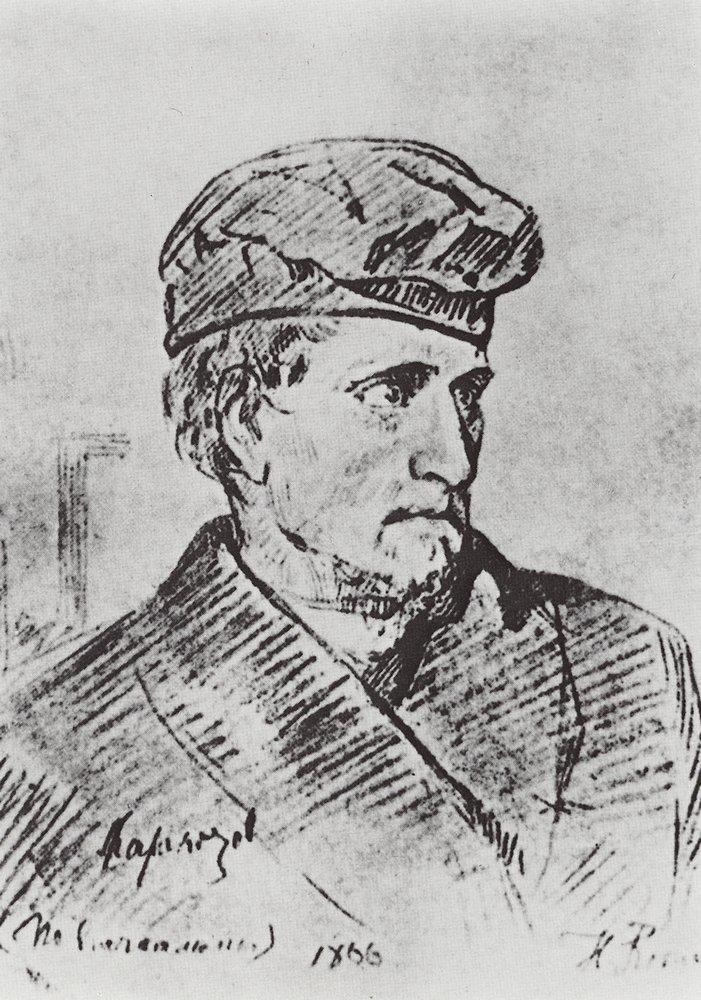 Илья Ефимович Репин. Д. В. Каракозов
