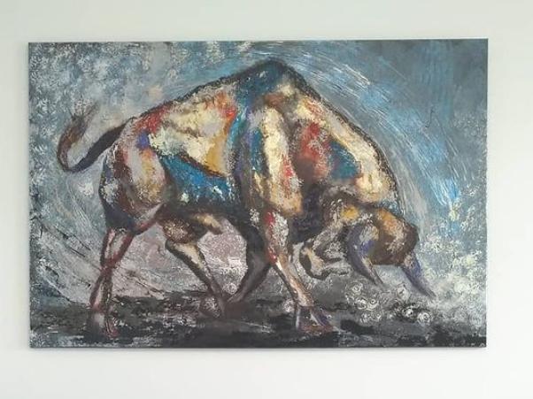 Екатерина Сетямина. Charging Bull