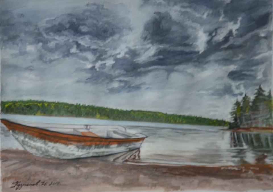 Kuznetsov.N. Moody autumn