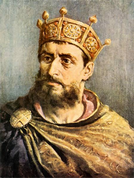 "Jan Matejko. Mieszko II. Series ""Portraits of Kings and Princes of Poland"""
