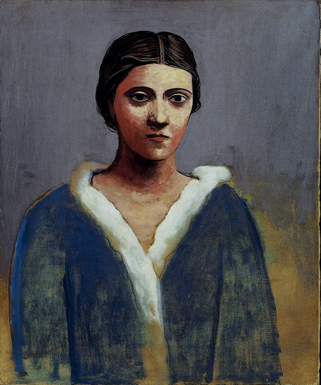 Pablo Picasso. Portrait of a woman (Olga)
