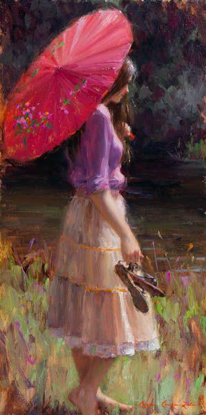 Брайс Листон. Розовый зонт