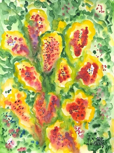 Larissa Lukaneva. Flower fantasy