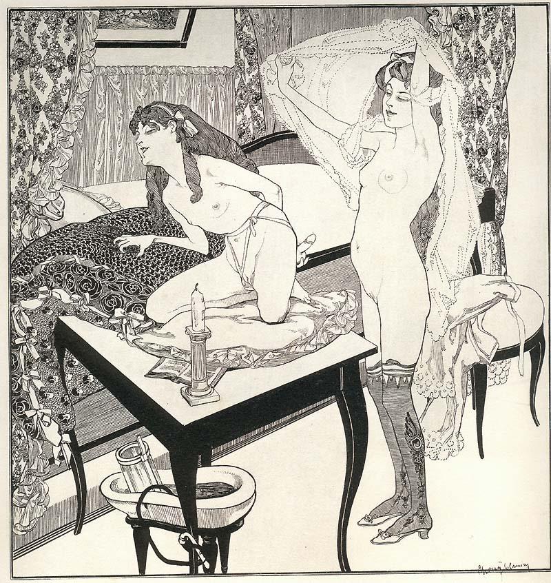 Картины эротика 18