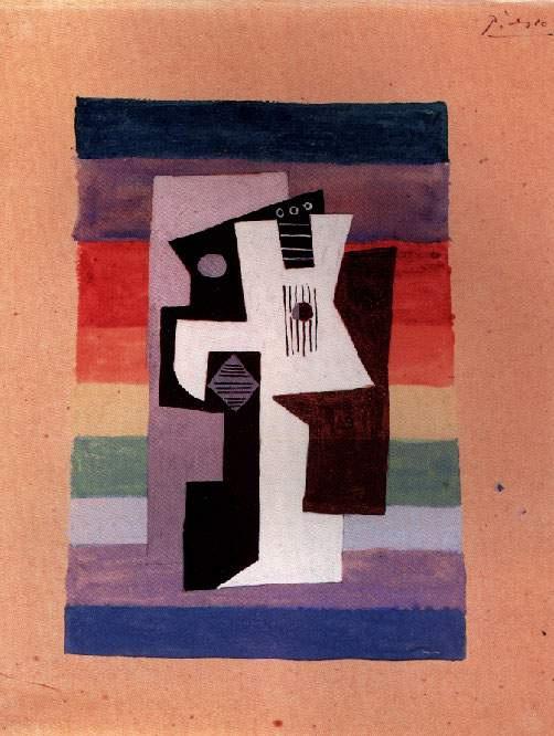 Пабло Пикассо. Гитара и ваза