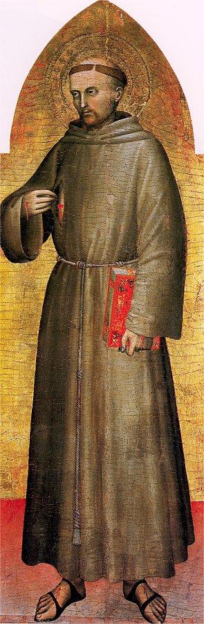 Джованни да Милано. Святой Франциск Ассизский
