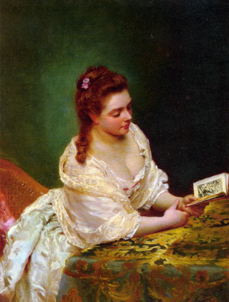 Reader by Gustave Jean Jacquet: History, Analysis & Facts