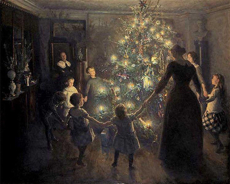 Viggo Johansen. Bright Christmas