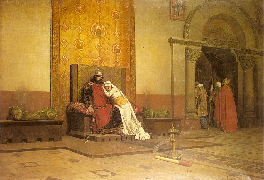 Жан-Поль Лоран. На троне